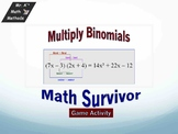 Multiplying Binomial - Game