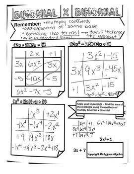 Multiplying Binomial and Binomial