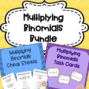Multiplying Binomials Bundle