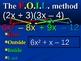 Multiplying Binomials - FOIL animated presentation