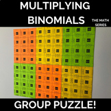 Multiplying Binomials Group Puzzle