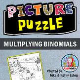 Multiplying Binomials Picture Puzzle