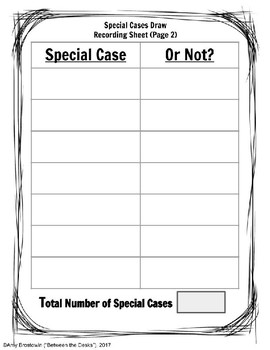 Multiplying Binomials - Special Cases Draw