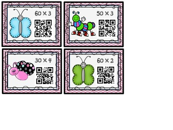 Multiplying Bugs (Multiplying by Multiples of 10)