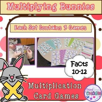 Multiplying Bunnies Facts 10-12