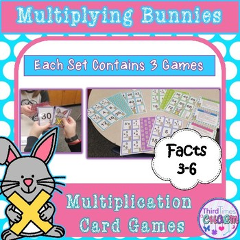 Multiplying Bunnies Facts 3-6