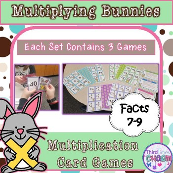 Multiplying Bunnies Facts 7-9