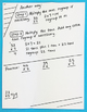 Doodle Notes - Multiplying By 1 Digit Numbers Interactive Notebook Foldable