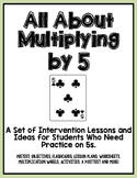 Multiplying By 5s: An Intervention Unit