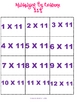 Multiplying By Extreme Elevens Game