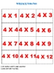 Multiplying By Fabulous Fours Game