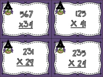 Multiplying By a Two Digit Number