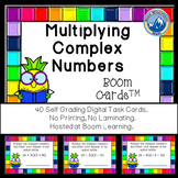 Multiplying Complex Numbers Boom Cards--Digital Task Cards