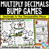 Multiplying Decimals Games: 10 Multi-Level Bump Games for Decimal Multiplication
