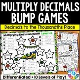 Multiplying Decimals Games {5.NBT.7, 6.NS.3}