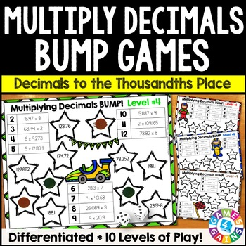 photo regarding Multiplying Decimals Games Printable titled Multiplying Decimals Worksheets Instruction Elements TpT