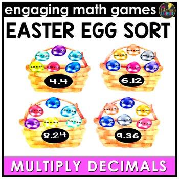 Easter Multiplying Decimals Game