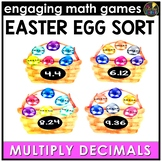Easter Math Game - Multiply Decimals