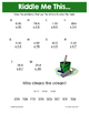 Summer Multiplying Decimals Math Riddles