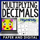 Multiplying Decimals Lesson Bundle 6.NS.3