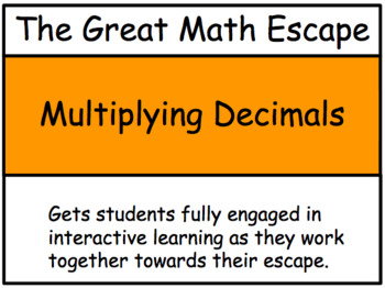The Great Math Escape - Multiplying Decimals