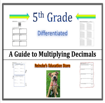 Multiplying Decimals (5.NBT.7) Worksheets with Answer Keys