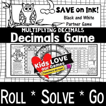 Multiplying Decimals Game: 5th Grade Math Game