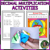 Multiplying Decimals Activities