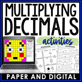 Multiplying Decimals Activity Pack