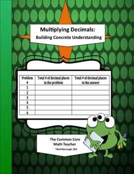 Multiplying Decimals: Building Concrete Understanding