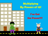 Multiplying Decimals By The Power of 10s! Superhero Style!
