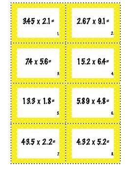 Multiplying Decimals: Common Core Aligned