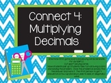 Multiplying Decimals Connect 4