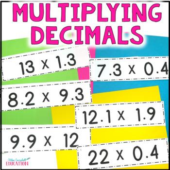 Multiplying Decimals Differentiated Activity