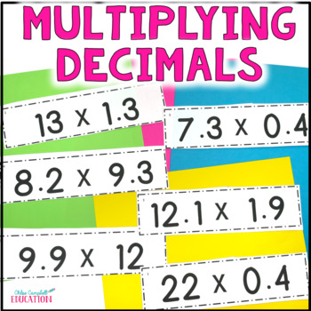 Multiplying Decimals Differentiated Activity