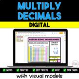 Multiplying Decimals {Digital} - Distance Learning