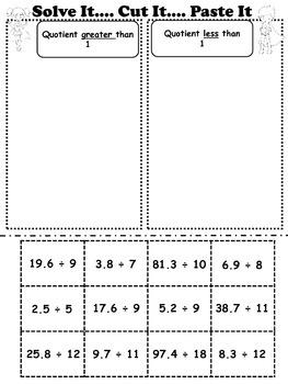 Multiplying Decimals, Dividing Decimals, Adding Decimals, & Subtracting Decimals