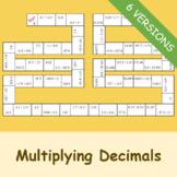 Multiplying Decimals (Dominoes)