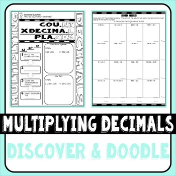 Multiplying Decimals Doodle Notes