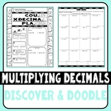 Multiplying Decimals Discover & Doodle