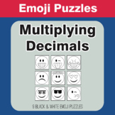 Multiplying Decimals - Emoji Picture Puzzles