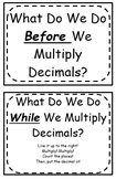 Multiplying Decimals Foldable (Flippable)