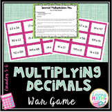 Multiplying Decimals Center Game