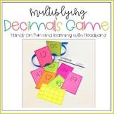 Multiplying Decimals Game - Handbanz