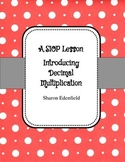 Multiplying Decimals Introduction SIOP Lesson