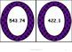 Multiplying Decimals Matching Activity