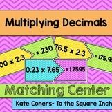 Multiplying Decimals Center