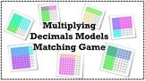 Multiplying Decimals Models Matching Game