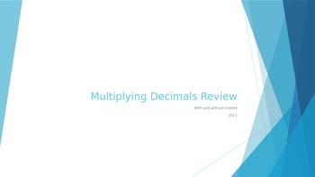 Multiplying Decimals Practice Problems