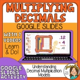 Multiplying Decimals  Representing Decimal Multiplication